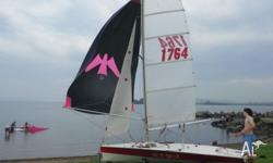 MG14 All sails included, comes with trailer and