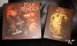 Complete Mice and Mystics Board Game with Heart of