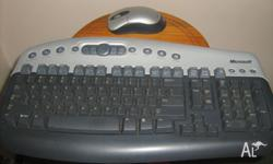 Genuine Microsoft wireless keyboard with wireless