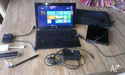 Microsoft Surface Pro 2 128GB Tablet. Running Windows
