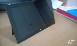 Microsoft Surface RT tablet 32GB Excellent condition.