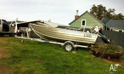 I am selling my Midnite Marine 15ft boat and trailer