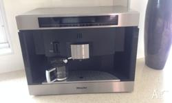 Miele Nespresso Coffee Machine in stainless steel