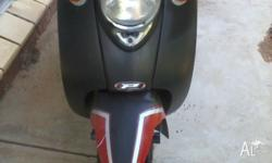 milan scooter for sale $400 ono.scooter runs well but