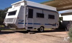 Caravan for sale in excellent condition, single beds,