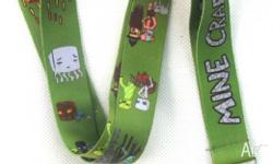 Brand new minecraft lanyard! Perfect for christmas