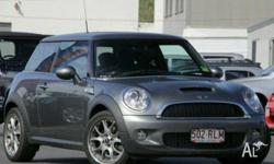 MINI,COOPER,R56,2008, FWD, Silver, BLACK trim, 2D