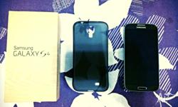 Mint condition Samsung Galaxy S4. Comes with box which