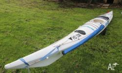 Secondhand double kayak - well loved. Reluctant sale