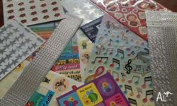 Have a bundle of sitckers for scrapbooking/cardmaking