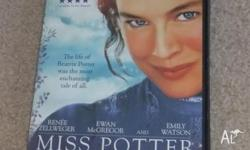 For Sale - Miss Potter DVD, this movie has only been