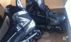 Mission axiom a3 roller blades up for sale great for