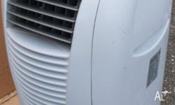 Cost $850 new. Mistral reverse cycle air conditioner -