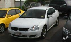 MITSUBISHI, 380, DB, 2005, FWD, White, 4D SEDAN,