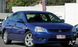 MITSUBISHI,380,DB SERIES II,2007, FWD, Blue, BLACK