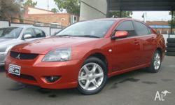 MITSUBISHI, 380, DB, 2005, FWD, Moulten Red, 4D SEDAN,