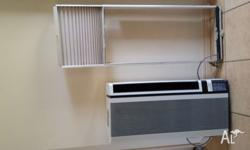 Window mounted air conditioning great for bedrooms on
