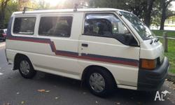 Extremely reliable and clean campervan for sale. Our