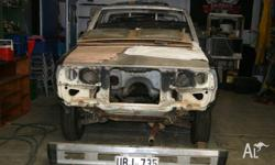 MITSUBISHI L200 UTE, 1984, (unfinished project car) Car