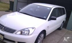 Mitsubishi CH Lancer 2.4 litre ES automatic wagon with