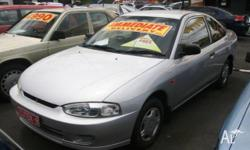 MITSUBISHI,LANCER,CE,1999, FWD, SILVER, 2D COUPE,