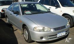 MITSUBISHI, LANCER, CE, 2001, FWD, SILVER, 2D COUPE,