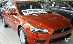 MITSUBISHI,LANCER,CJ MY11,2011, FWD, ORANGE BURST,