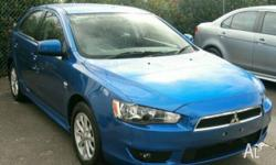 MITSUBISHI,LANCER,CJ MY09,2009, FWD, Lightning Blue, 5D