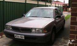 Mitsubishi magna. Aoto. Runs well, very clean and tidy,