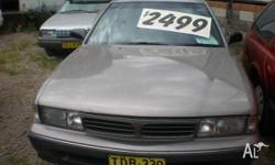 MITSUBISHI,MAGNA,1994, SILVER, 4D WAGON, UNLEADED