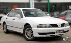 MITSUBISHI,Magna,TJ Series 2,2003, Four Wheel Drive,