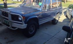 1990 Mitsubishi Pajero, NJ Superwagon, V6 Long Wheel