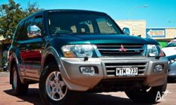 MITSUBISHI, Pajero, NM MY2002, 2002, 4X4, METALIC