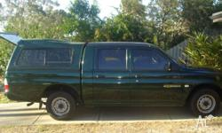 Great for the Family or Work. Double-cab Ute with hard