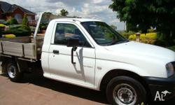 Mitsubishi Triton Gl, 2005 Tray ute New tyres Just been