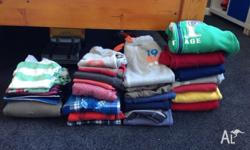 Burnie Area - $15 Boys mixed items (jumpers, jackets,