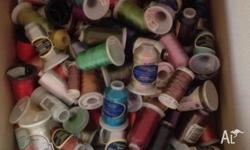 I AM SELLING SOME OF MY EMBROIDERY THREADS THESE ARE