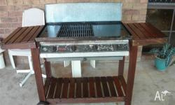We have just bought a new small BBQ to take with us on