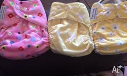 Funki Bum Nappies Brand New Includes booster. Have not