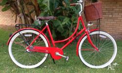 I'm selling my Mojo Bike, it's a 3 speed Dutchie in