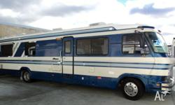 MONACO LE, 1985, blue, Motorhome, imported from usa
