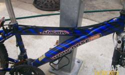 I HAVE FOR SALE THIS MONGOOSE BIKE FRAME ONLY I AM