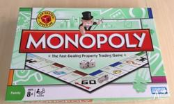 Board game Monopoly It is almost new We used it only