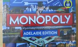 Monopoly ADELAIDE EDITION new and sealed unwanted