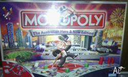 Sealed New, Monopoly the Australian here and now