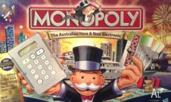 Monopoly Australian electronic (credit cards and