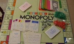 Have got a complete Monopoly game set but no box. All