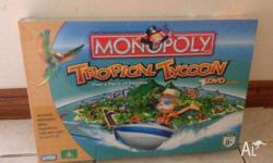 Brand new in wrapper this is tropical tycoon DVD game
