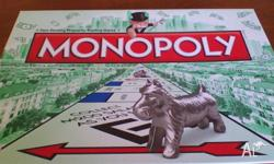 I have a Monopoly board game for sale, just the