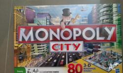 Brand new, sealed in box. Monopoly City is the Monopoly